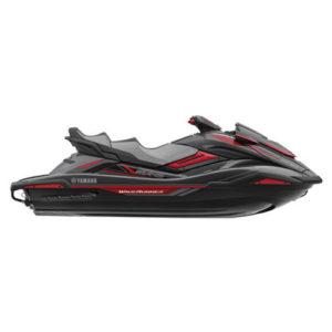FX SVHO Cruiser vannscooter svart/carbon/rød
